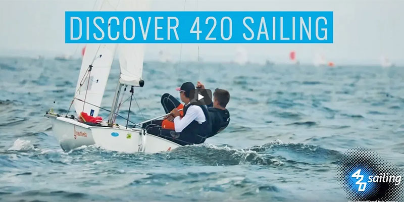 Discover 420 Sailing - International 420 Class Promotional Video